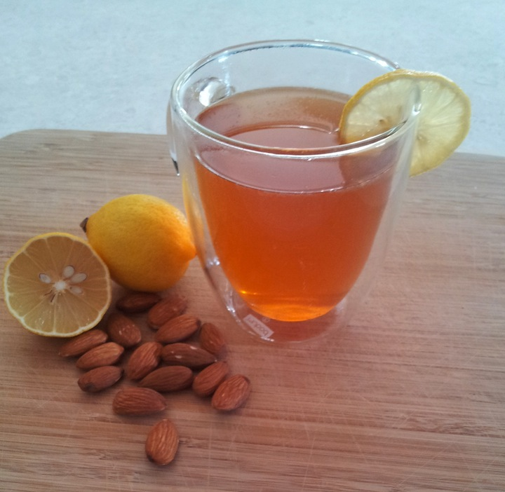 recipe almond tea was one of those making almond tea like almond tea ...