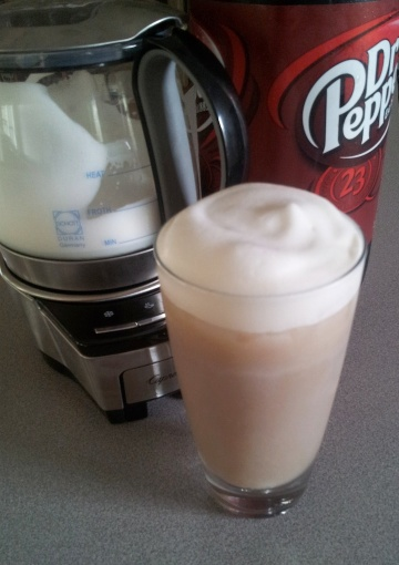 Dr. Pepper Froth
