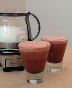 Iced Chocolate Raspberry Latte
