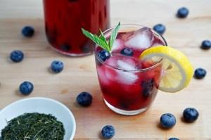 Blueberry Iced Green Tea 500 6487
